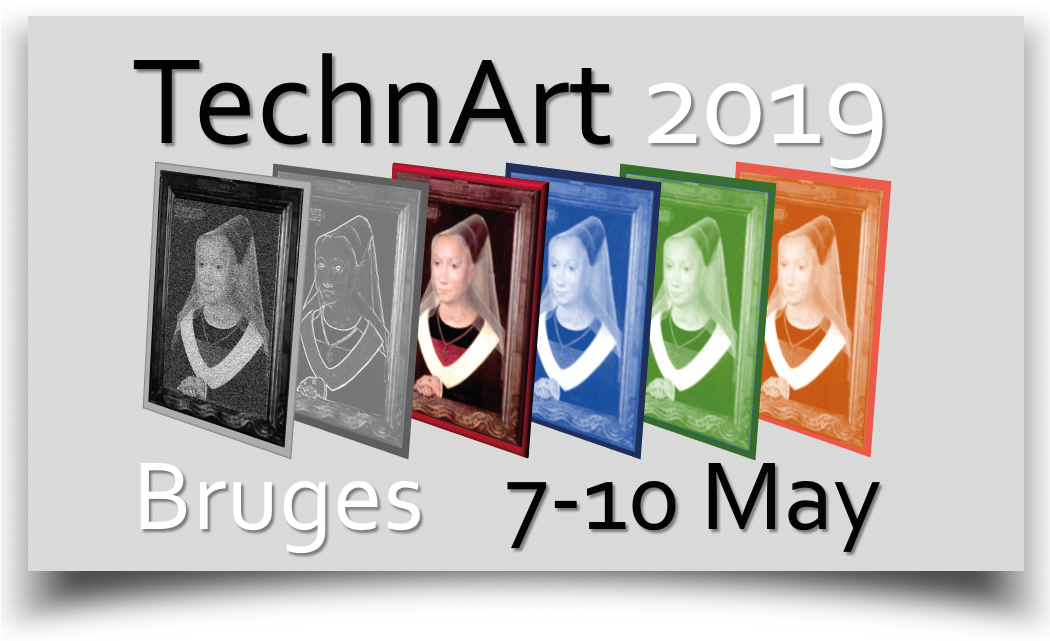 Poster Prize Award for the University of Turin team at the Technart Conference 2019 in Bruges, Belgium