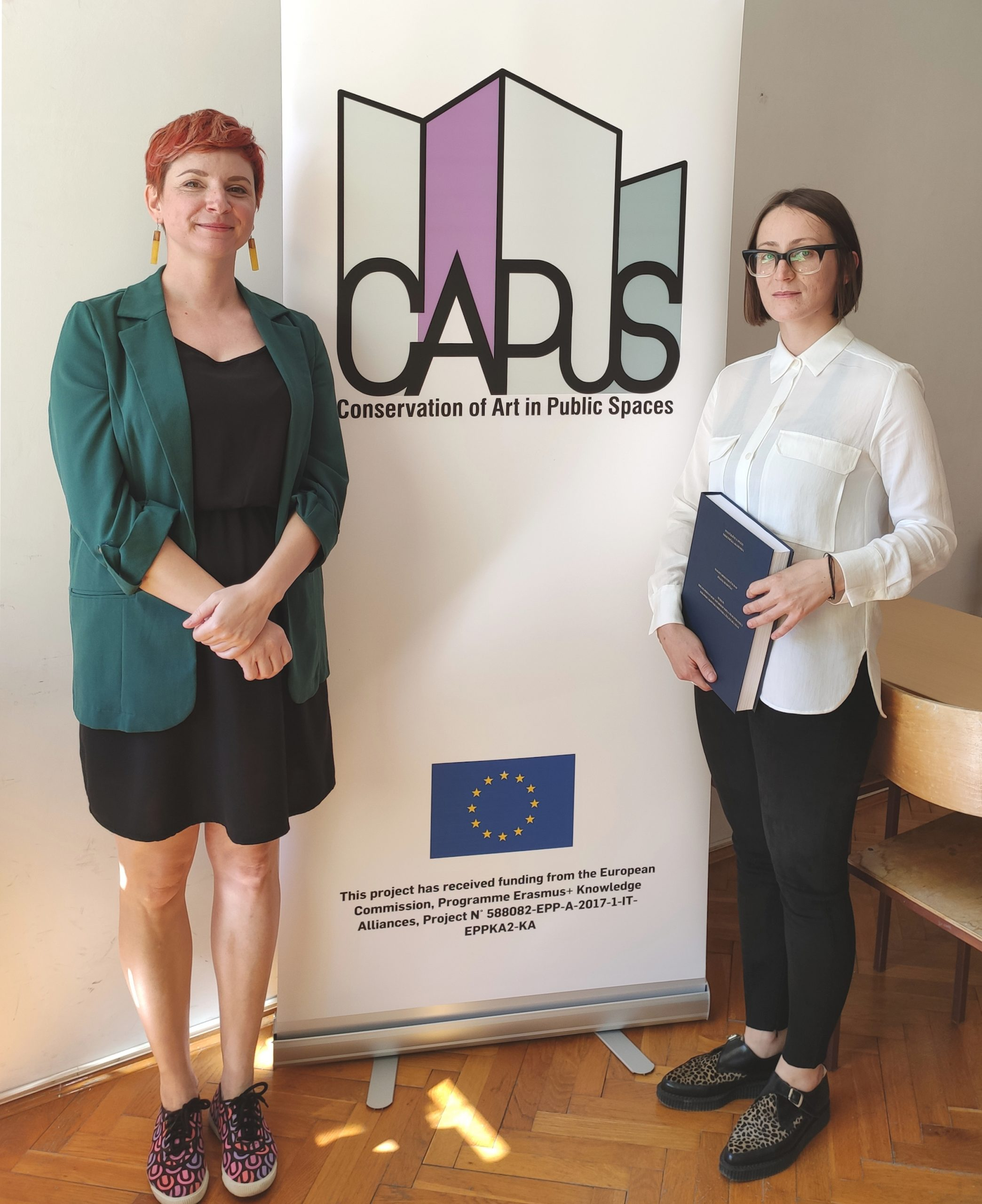 Jelena Hudinčec (University of Split – Arts Academy) defends MA theses related to the CAPuS project