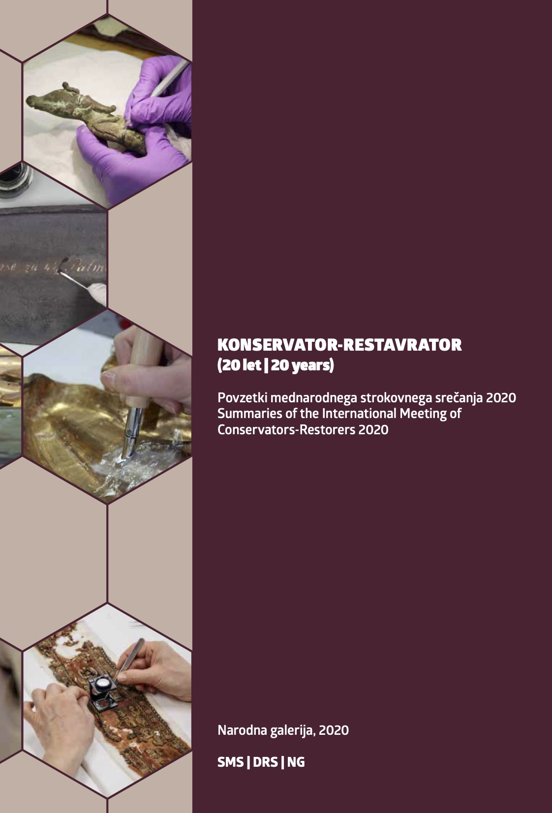 Poster presentation at the 20th International Meeting of Conservators-Restorers in Slovenia
