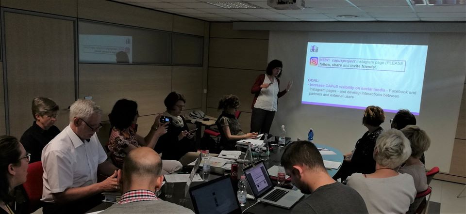 Third meeting of the CAPuS project (Milan, Italy)