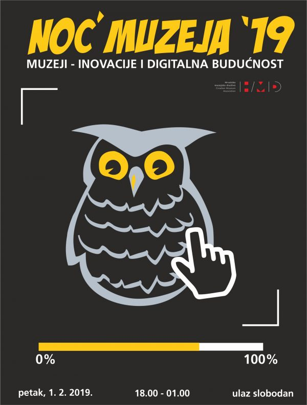 Presentation of the CAPuS project at the 14th Night of Museums in Croatia